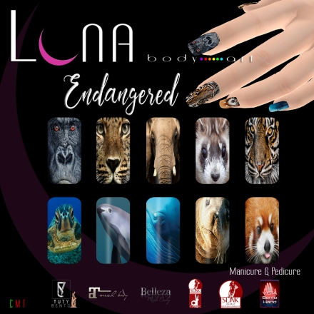 LUNA Body Art Endangered Nails